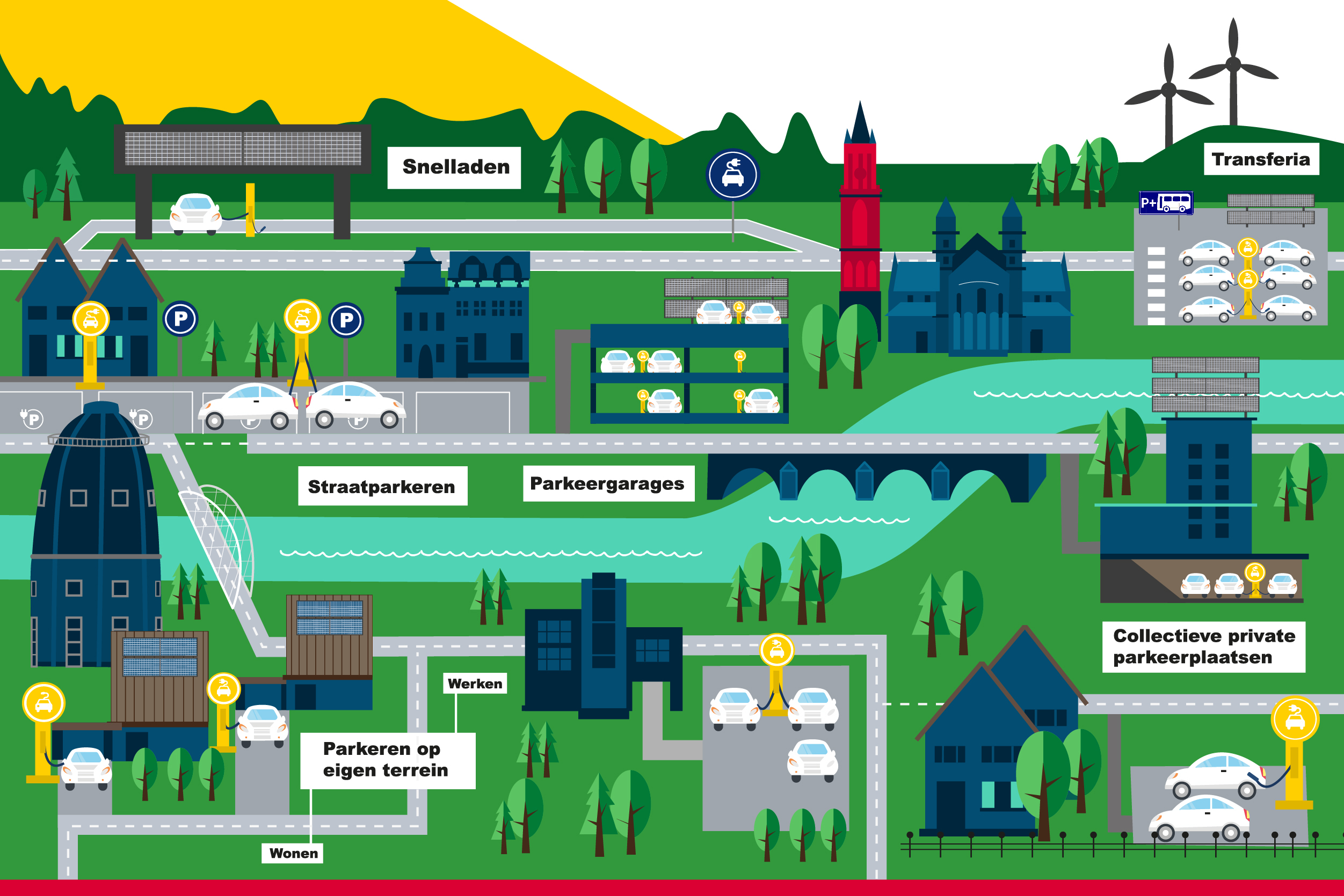 Netwerk laadinfrastructuur Maastricht